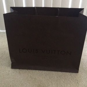 Other - Louis Vuitton Gift bag